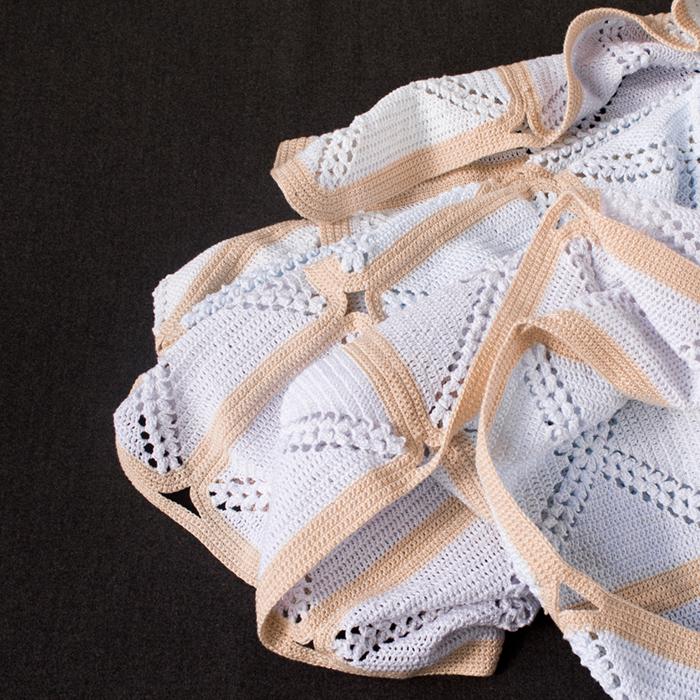 Detalle colcha de crochet