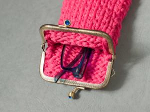 Funda de gafas con cinta