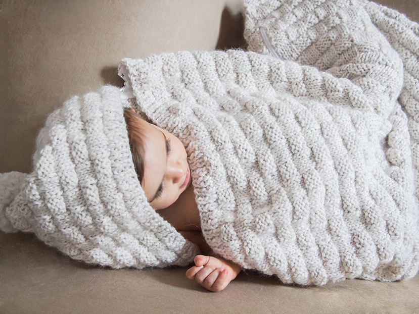 Saco para bebé - Lanas Rubí | Lanas Rubí