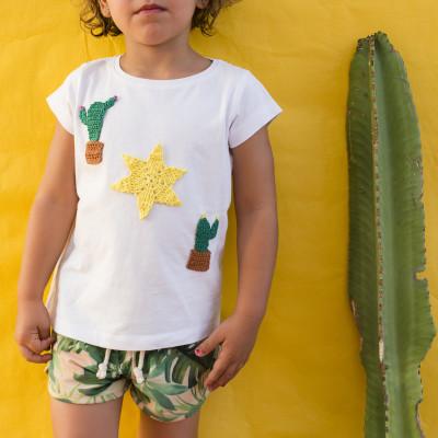 Destacado Camiseta Cactus-LR
