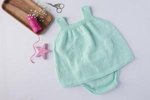 Vestido bebe mint-2