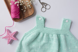Vestido bebe mint-4