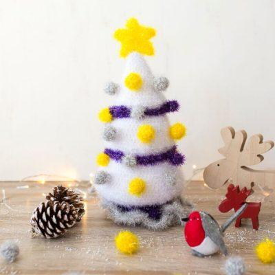 Árbol de Navidad Rubí Fiesta